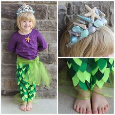 Learn how to make a seashell crown fit for a mermaid princess in this easy to follow DIY tutorial!