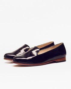 Patent Leather Smoking Shoe