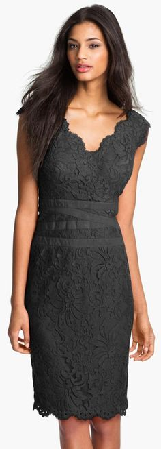 Tadashi Shoji women fashion outfit clothing style apparel @roressclothes closet ideas