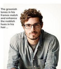 Tip to Find Your Best Frame: Select a light strand of hair on your head. Match it to the lightest color in the frames.