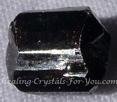 Cassiterite helps to bring Divine light into your body from the source of all that is. This is a powerful stone to use in meditation to aid shamanic journeying.  It may help you to release energetic debris that is holding back your life's journey, and it is a helpful stone to aid spiritual grounding.  This crystal has a strong spiritual grounding energy, and has an interesting mix of balancing your energy and energizing you depending on what you may need.