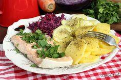 Delikatny łosoś na parze: idealny obiad dla całej rodziny! | Zdrowe Przepisy Pauliny Styś