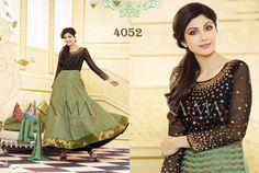 Style: Anarkali SuitWork: Embroidered, Resham WorkFabric: Georgette