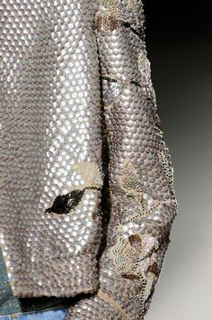 #DriesVanNoten #glitter #silver #embroideries Spring 2011 RTW ultime crush