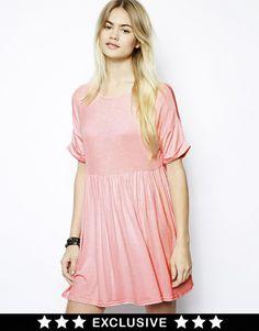 Daisy Street Jersey Smock Dress at ASOS £16