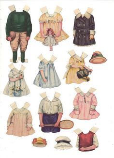 Unidentified Paper Dolls 4. | Flickr - Photo Sharing!