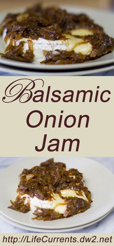 Balsamic Onion Jam -