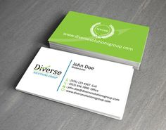 Diverse Solutions Business Card Design