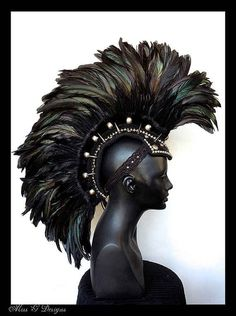BUT THIS ONE THOUGH. | This Artist Makes The Coolest Headpieces Ever
