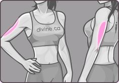 Click on the body part you want to tone. Provides multiple exercises.