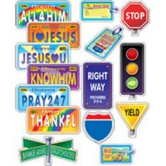 License plate ideas. Make up copies. Print on card stock. Kiddos can color.