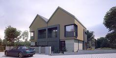"""Housing estate """"Na Wirach"""" on Behance"""