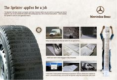 Mercedes-Benz - The Sprinter aplies for the job