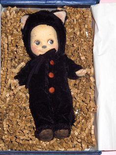 R. John Wright - Kewpie Kat Felt Doll - 2004 - LE250 - w/ Box - Halloween