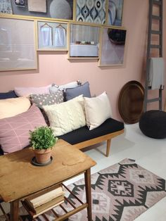 Pastel Heaven from Södahl Decor, Furniture, Home Decor, Entryway, Showroom, Bench, Couch, Entryway Bench