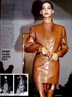 MARPESSA,  Azzedine Alaia Show - A/W 1986