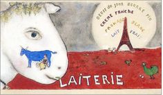 * Laiterie 1933 - Chagall