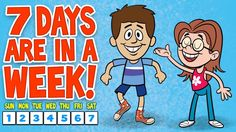The 7 Days of the Week Song ♫ 7 Days of the Week Calendar Song ♫ Kids Songs by The Learning Station - Colorful Dreams Kindergarten Nursery Kindergarten Songs, Preschool Music, Preschool Learning, Fun Learning, Preschool Activities, Teaching, Group Activities, Days Of The Week Activities, Kindergarten Readiness