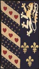 Heraldic Wall Hangings 	  15th Century Scotland  (Her15-Sco01) (Reproduction)