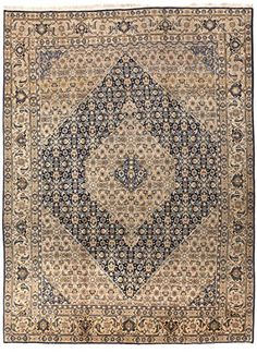 An antique Persian Tabriz rug. All over Herati pattern within turtle border. Persian Decor, Persian Rug, Persian Carpet, Morrocan Rug, Eclectic Rugs, Affordable Rugs, Tabriz Rug, Rug Texture, Classic Rugs
