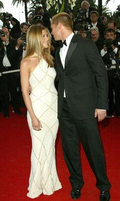 The absolute best of Cannes red carpet fashion: Jennifer Aniston in Atelier Versace in 2004.