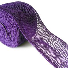 """4"""" Jute Ribbon Purple - more colors available at www.trendytree.com $8.25"""