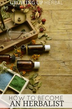 How To Become An Herbalist   Growing Up Herbal   Interested in becoming an herbalist? It's easier than you might think!