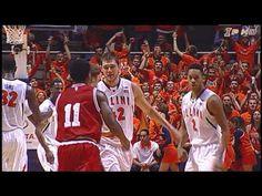 Illinois Basketball Highlights vs. #1 Indiana 2/7