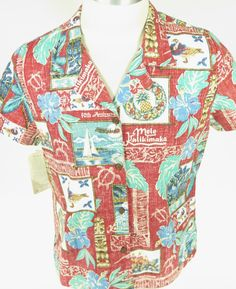 c909a44e 2006 Reyn Spooner Mele Kalikimaka island Christmas shirt with authentic  coconut buttons. Find more men's and women's authentic vintage clothing at  The ...