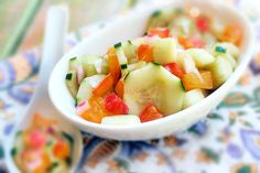 Cool As A Cucumber Salad with Agave