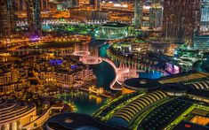 The Fountain. by arch_khaled. City Wallpaper, Dubai Mall, Concert Hall, United Arab Emirates, Sydney Harbour Bridge, Best Vacations, Wonderful Places, Modern Architecture, Fountain