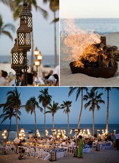 Sophisticated Beach Luau Ideas  LOVE This !!!  Idea For Our Church Luau !!!