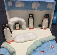 Preschool Crafts, Crafts For Kids, School Projects, Arctic, Game Room, Habitats, Activities, Project Ideas, January