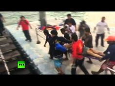 Two Russians killed as overcrowded ferry sinks in Thailand(OFFICIAL VIDEO)