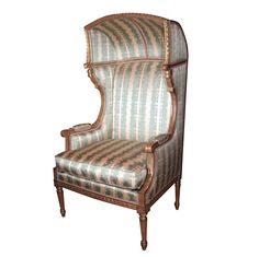French Louis XVI Porters Chair