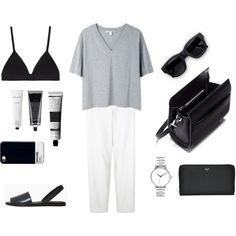 A fashion look from June 2014 featuring Acne Studios t-shirts, Elizabeth and James pants and Proenza Schouler bras. Browse and shop related looks.