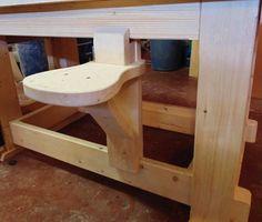 BEST SEAT IN THE SHOP - by kiefer @ LumberJocks.com ~ woodworking community
