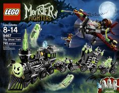 LEGO 9467 Monster Fighters The Ghost Train Halloween Spooky MIB New LAST ONE #LEGO