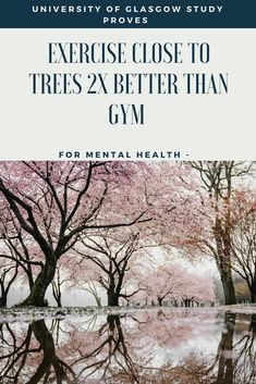 Exercise Outside 50% Better Than Gym For Mental Health - TreesMendUs