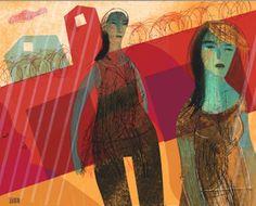 MartaToledo Ilustraciones: Apuntes de Viaje- Drawings, Painting, Hospitals, Fire, Culture, Illustrations, Flowers, Art, Painting Art