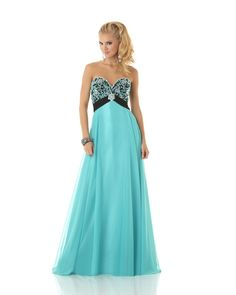 A very attractive evening dress from Mystique Prom. Best Formal Dresses, Prom Dresses Under 100, Gorgeous Prom Dresses, Affordable Prom Dresses, Elegant Prom Dresses, Beautiful Gowns, Pretty Dresses, Formal Gowns, Turquoise Prom Dresses