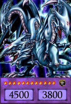 Ultimate Dragon blanco de ojos Azules (contrastado)