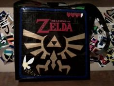 Legend of Zelda duct tape bag