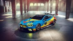 The new BMW M8 GTE race car will make its world debut at the Rolex 24 in Daytona – but one artist has decided to give it a virtual makeover before then.