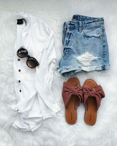 Source by Outfits verano Cute Summer Outfits, Cute Casual Outfits, Stylish Outfits, Spring Outfits, Fashion Outfits, Womens Fashion, Style Fashion, Fashion Ideas, Sporty Outfits