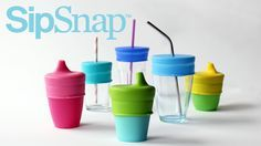 SipSnap | Spill-proof kid's drinking lid – Double Double
