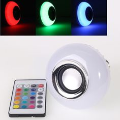 $12.58 (Buy here: https://alitems.com/g/1e8d114494ebda23ff8b16525dc3e8/?i=5&ulp=https%3A%2F%2Fwww.aliexpress.com%2Fitem%2FWireless-Bluetooth-Remote-Control-Mini-Smart-Audio-Speaker-Bulb-RGB-Color-Light-Music-E27-LED-Lamp%2F32698357293.html ) Wireless Bluetooth Remote Control Mini Smart Audio Speaker Bulb RGB Color Light Music E27 LED Lamp for just $12.58