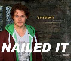 Happy St. Andrew's Day!  Sassenach pronunciation video from Outlander Starz: http://www.youtube.com/watch?v=qOR_8tLUMTo