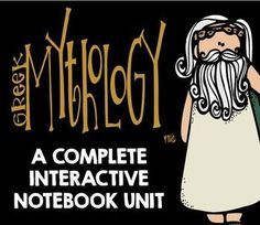 Greek Mythology: Complete 142 Page Interactive Notebook Unit 4th Grade Reading, Book Study, Interactive Notebooks, Graphic Organizers, Ancient Civilizations, Greek Mythology, Ancient Greece, Social Studies, Lesson Plans