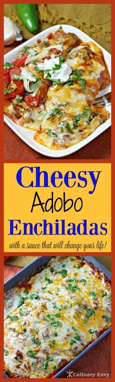 cheesy adobo enchiladas cheesy adobo enchiladas made with toasted ...